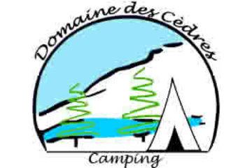 Camping Domaine Des Cedres in Brébeuf: CAMPING SUR LA BORD DE LA RIVIERE ROUGE