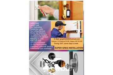 Super Greg Installation | Cheap Locksmith Calgary