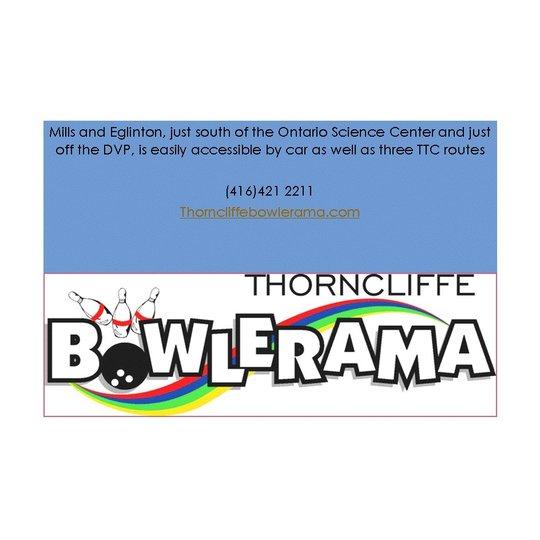 Thorncliffe Bowlerama, Toronto ON