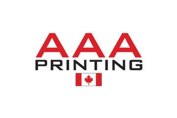 AAA Imprimerie in Montréal: Logo english
