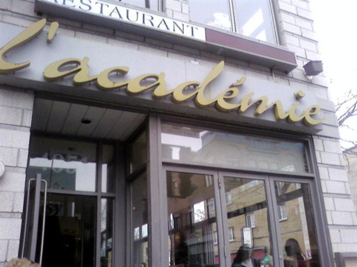 L Academie Restaurant Montreal