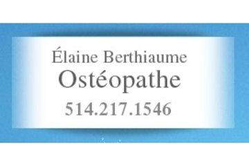 Élaine Berthiaume ostéopathe