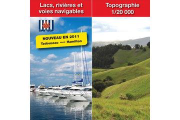 TrakMaps à Dorval: Lacs, rivières et voies navigables - Topographie
