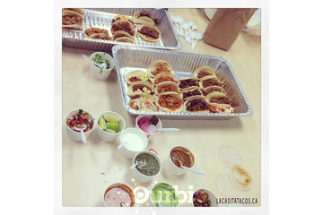 La Casita Tacos in Vancouver: Taco and ceviche delivery for our office party