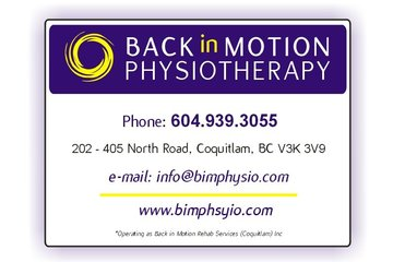 Back in Motion Physiotherapy in Coquitlam