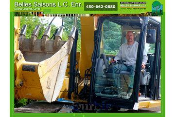 Belles Saisons L C Enr à Laval: excavation-gazon-tonte-laval