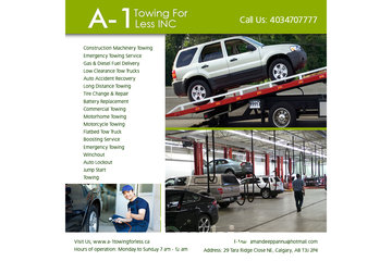 A-1 Towing For Less INC | Gas & Diesel Fuel Delivery in Okotoks