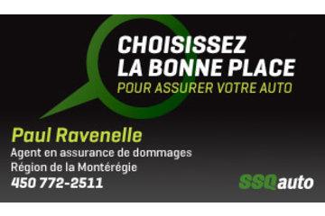 Paul Ravenelle, agent en assurance de dommages affilié à SSQauto
