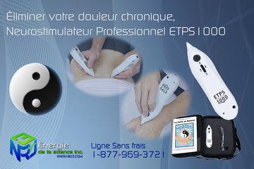 NRJ3 - Énergie de la Science Inc. à Laval: Appareil Professionnel ETPS1000 - NRJ3 est le distributeur exclusif de cette technologie au Québec !
