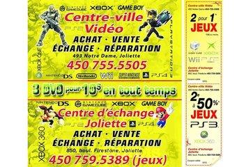 CENTRE D'ECHANGE JOLIETTE (JEUX VIDÉO) à Joliette: COUPON RABAIS