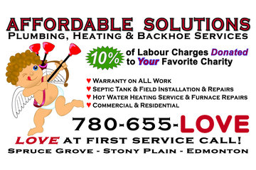 Affordable Solutions Plumbing, Heating & Backhoe Services