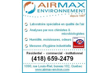 Airmax Environnement Inc in Sainte-Foy