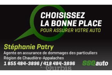 Stéphanie Patry, agente en assurance de dommages affiliée à SSQauto