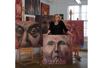 St-Amant, peintre à Montréal: Mon atelier