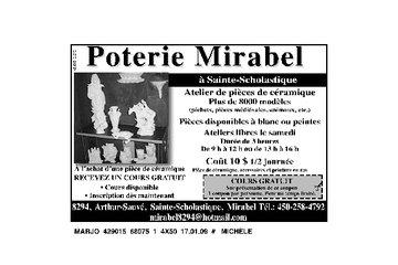 Poterie Mirabel