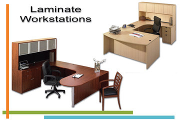 Techno Office Furnishings Ltd in Richmond: Laminate Workstations