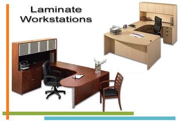 Techno Office Furnishings Ltd in Richmond: Laminate Workstations