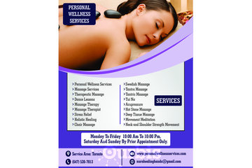 Personal Wellness Services | Therapeutic Massage in Toronto