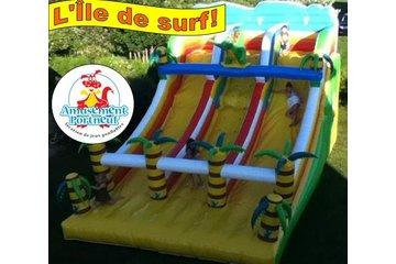 Amusement Portneuf à Grondines: Ile de surf