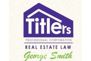 Titlers George Smith Real Estate Law