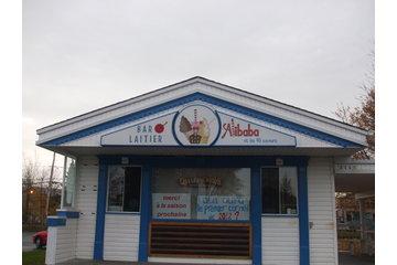 Bar laitier Alibaba et les 40 saveurs à Varennes: nouvelle image de notre crèmerie à Varennes.   Merci de nous redonner Alibaba...