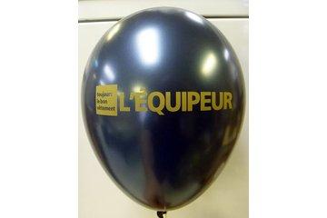 Impression de Ballons - Atelier Printex à Trois-Rivières-Ouest:  Ballon Imprimé
