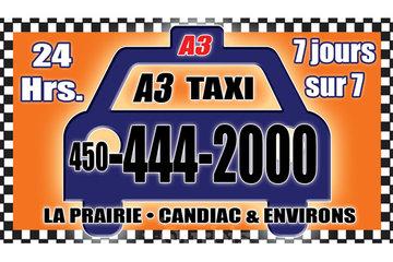 A 3 Taxi La Prairie-Candiac
