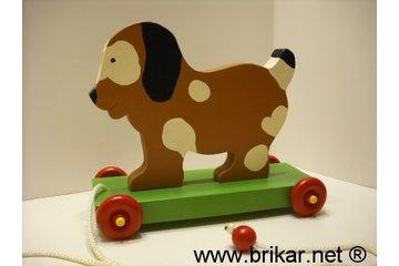 Brikar.net à Saint-Hubert: Jouet a tirer en bois