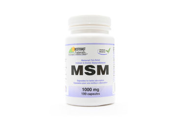 Westcoast Naturals in Richmond: MSM (Natural Pain Relief) 1000 mg 100 caps