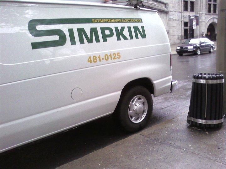 simpkin ltee montr al qc ourbis. Black Bedroom Furniture Sets. Home Design Ideas