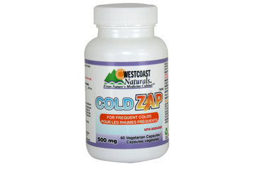 Westcoast Naturals in Richmond: Cold Zap 500 mg 60 vcaps