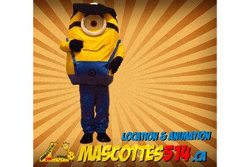 Mascottes 514 à Montréal: Mascotte minion