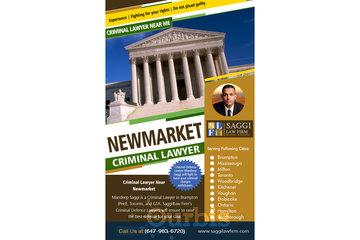 Saggi Law Firm in BRAMPTON: Newmarket Criminal Lawyer