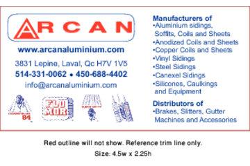 Arcan Aluminium à Laval