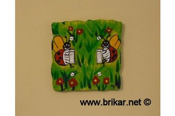 Brikar.net in Saint-Hubert: Plaque interrupteur  fait sur mesure