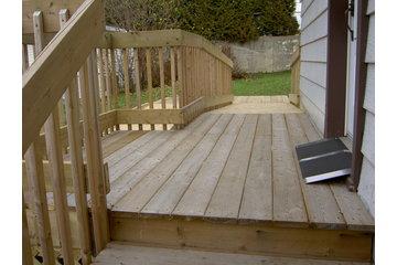 L V Novabec Construction Inc à LaSalle: rampe d'acces pour handicapes