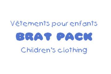 Brat Pack Vêtements Pour Enfants