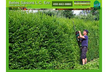 Belles Saisons L C Enr à Laval: haie-taille-gazon-tonte-laval