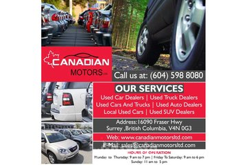 Canadian Motors Ltd | Local used cars | Surrey
