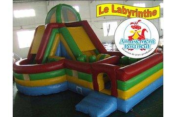 Amusement Portneuf à Grondines: Labyrinthe
