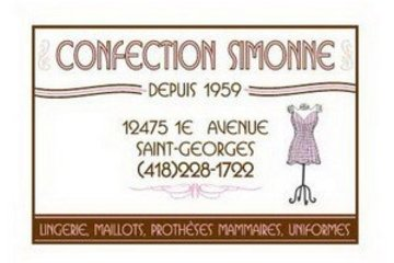 Confection Simonne inc
