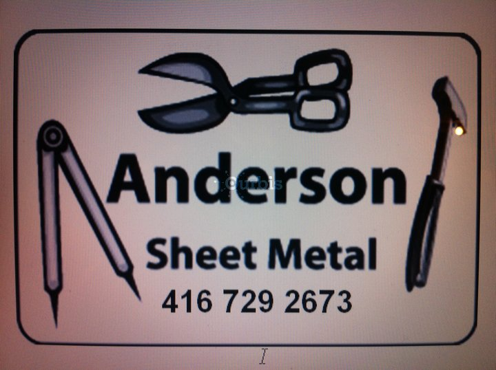 Anderson Sheet Metal 416 729 2673 Mississauga On Ourbis
