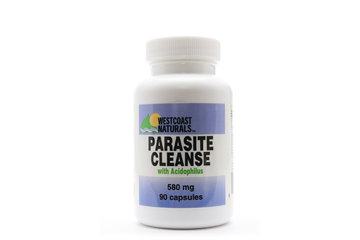 Westcoast Naturals in Richmond: Parasite Cleanse (w/ Acidophilus) 580 mg 90 caps