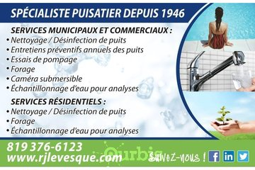 R.J. Lévesque & Fils Ltee in Trois-Rivières: Nos services