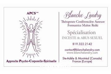 Blanche Landry, thérapeute. SPÉCIALISATION: INCESTE-ABUS SEXUEL