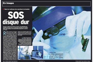 Chronodisk Data Recovery à Montréal: Reportage dans la presse sur Chronodisk Récupération de données