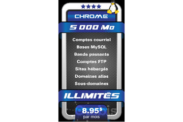 OCTOGONE INTERNET in Laval: CHROME