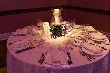 The Royalton in Woodbridge: A wedding table setting