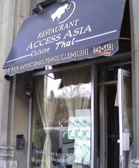 Asian Restaurant Sherbrooke Street