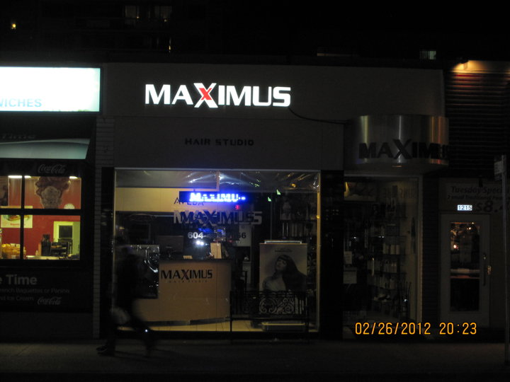 Maximus hair salon vancouver bc ourbis for A salon vancouver